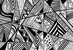1000 images about abstraction geometric on pinterest With design art black and white