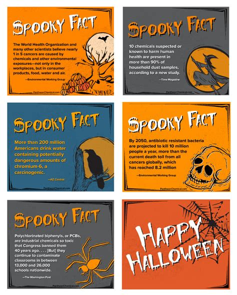 halloween spooky facts  toxic chemicals pantheon