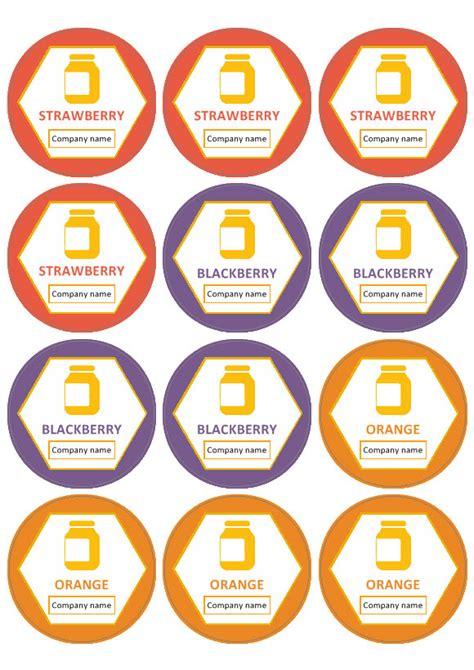 labels  circular labels template