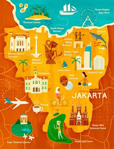 map  jakarta  garuda indonesia  wesley robins