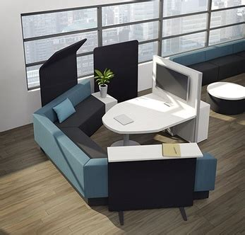 Office Furniture And Seating by Artopex Downtown Collaborative Office Furniture Lobby