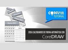 TUTORIAL CorelDRAW >Creación de un calendario de forma