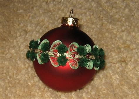quilled ornament christmas crafts pinterest