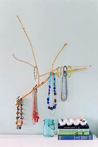 DIY Branch Jewelry Holder