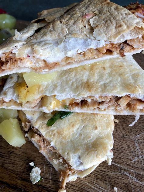 fryer air chicken quesadillas quesadilla diaries recipe tortilla bbq
