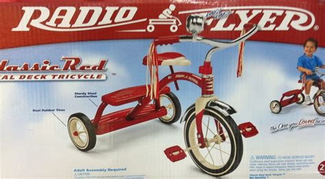Radio Flyer Dual Deck Tricycle Australia by Radio Flyer Classic Tricycle Dual Deck Trike Wagon