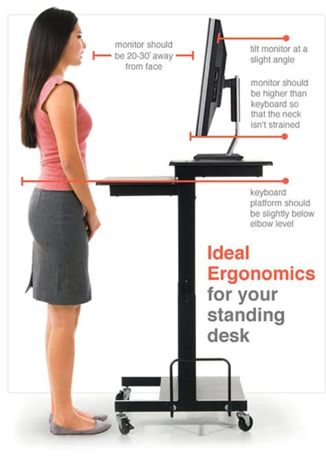 how to use a standing desk use a standing desk to treat back neck and shoulder pain
