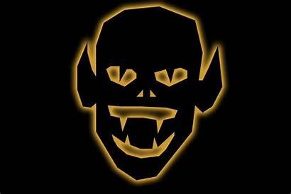 Clipart Face Goblin Evil Halloween Finger Gremlin