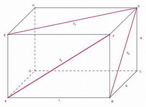 Diagonale Eines Quadrats Berechnen : fl chendiagonalen eines quaders ~ Themetempest.com Abrechnung