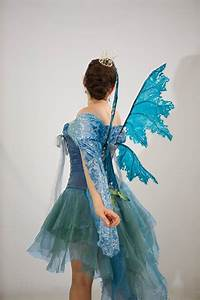 Blue Resin Coated Cellophane Fairy Wings by ...