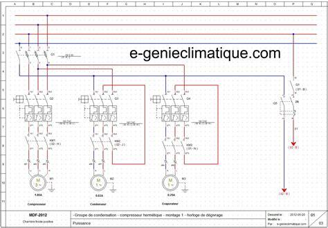 chambre froide pdf froid15 le 2éme montage partie 2 sché électriques froid