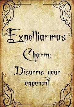 harry potter spells curses  charms   board