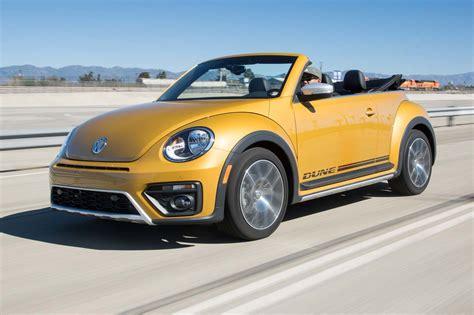 car volkswagen beetle 2017 volkswagen beetle dune convertible first test review