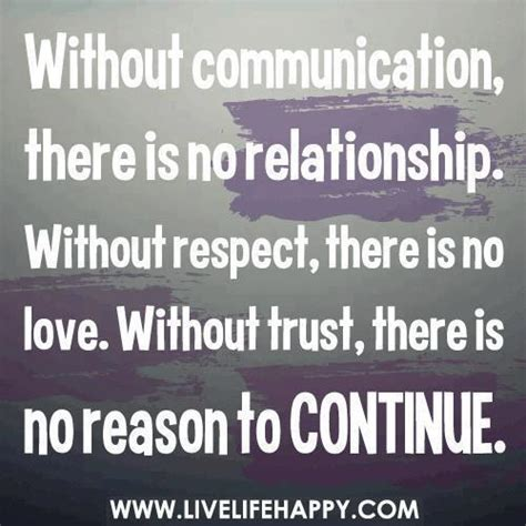 Without Communication, There Is No Relationship Without. Quotes About Moving Cities. Crush Depression Quotes. Quotes Girl Ignoring You. Good Quotes For Instagram Bios. Quotes For Him When He's Mad. Positive Quotes Before An Interview. Music Quotes From Famous Composers. Happy Quotes Marilyn Monroe