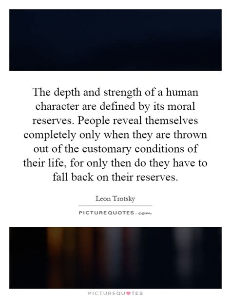 Character Defines A Person Quotes