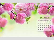 March Calendar Wallpaper 2015 Wallpapers from TheHolidaySpot