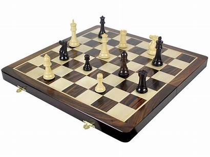 Chess Board Premier King Pieces Rosewood Staunton