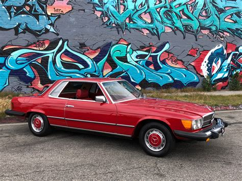 Modifikasi Mercedes Slc Class by Used 1977 Mercedes 450 Class 450 Slc For Sale