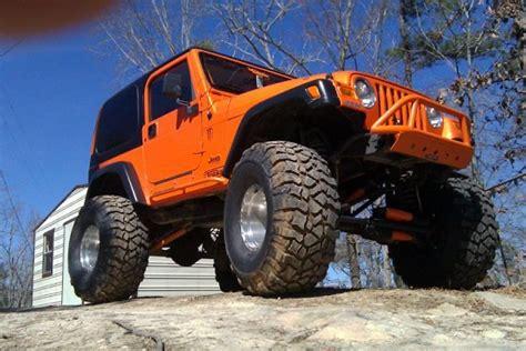 4 door jeep wrangler jacked up 1997 jeep wrangler tj 10 000 possible trade 100292482