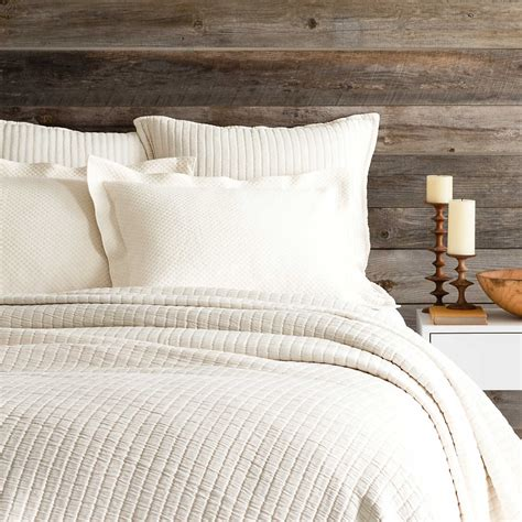 Coverlet For Bed by Boyfriend Ivory Matelass 233 Coverlet Pine Cone Hill