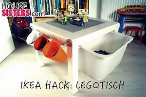 Aufbewahrungsbox Für Lego : housesisters hack diy ikea kinderzimmer hack aus dem ikea lack tisch wurde ein lego tisch f r ~ Buech-reservation.com Haus und Dekorationen