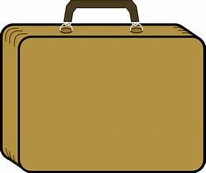 Little Tan Suitcase Clip Art at Clker.com - vector clip ...