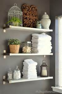 shelves in bathroom ideas 17 diy space saving bathroom shelves and storage ideas shelterness