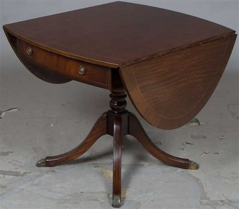 pedestal table with leaf antique pedestal drop leaf table
