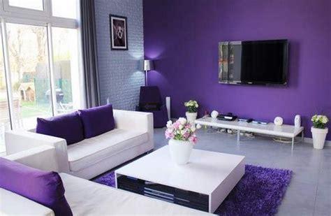 deco gris et violet d 233 co salon violet et gris