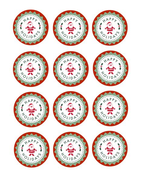 printable christmas toppers images