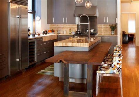 deco maison cuisine cuisine avec ilot central deco maison moderne