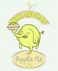Tree trunks apple pie | Adventure time party | Pinterest
