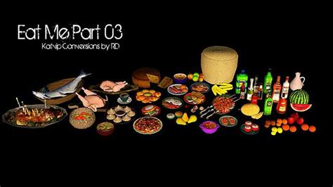 cuisine sims 3 repulsively desirous creations food clutter set 3 sims 3