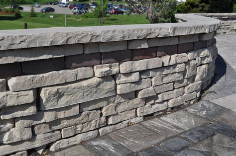 Unilock Rivercrest by Rivercrest Wall Retaining Walls Pavers Retaining