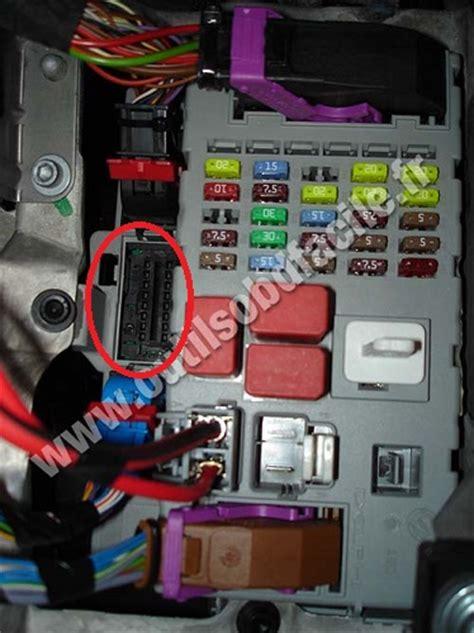 obd connector location  fiat bravo