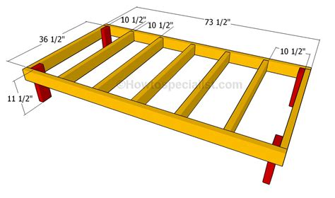how to frame a floor how to build a house howtospecialist how to