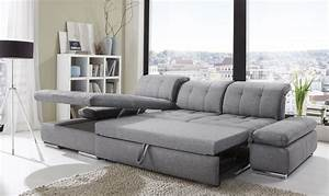 alpine sectional sleeper sofa left arm chaise facing With sectional sofa with a sleeper