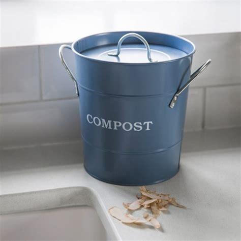 poubelle à compost de cuisine poubelle de compostage couvercle et anses compost decoclico