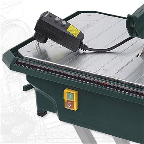 Elektrischer Fliesen Schneider Schneidmaschine + Gestell