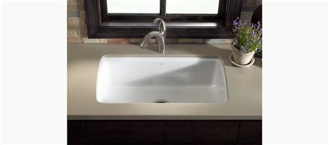 kohler undermount sinks kitchen standard plumbing supply product kohler k 5864 5u ft 6706