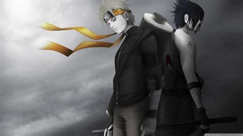 Naruto Sasuke Shippuden Black And White Hd Wallpaper 4k Hd