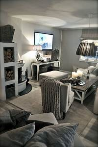 Adorable, Cozy, And, Rustic, Chic, Living, Room, For, Your