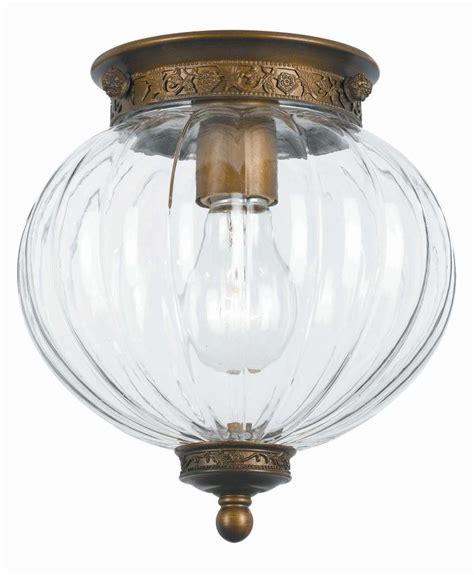 antique brass flush mount ceiling light crystorama antique brass camden 1 light flush mount