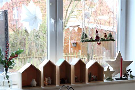 Wichtelschaukel Fensterdeko Weihnachten