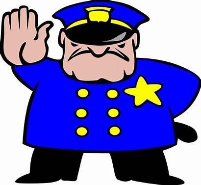 Clipart Serious Clip Cliparts Library Police