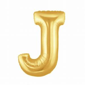 gold letter j balloon gold letter balloon 40 With 40 gold letter balloons
