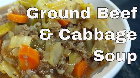 beef  cabbage soup recipe legourmettv youtube