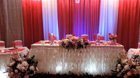Wedding Reception Decor & flowers arrangement idea's YouTube