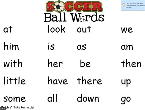 dailey katherine kindergarten ball word lists