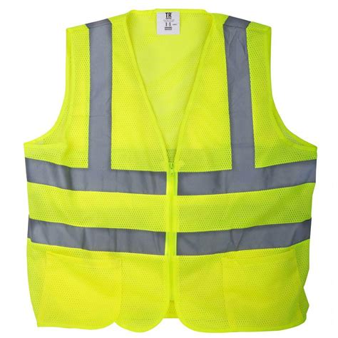 Bright Kitchen Lighting Ideas - tr industrial xxxl yellow mesh high visibility reflective class 2 safety vest tr88009 the home